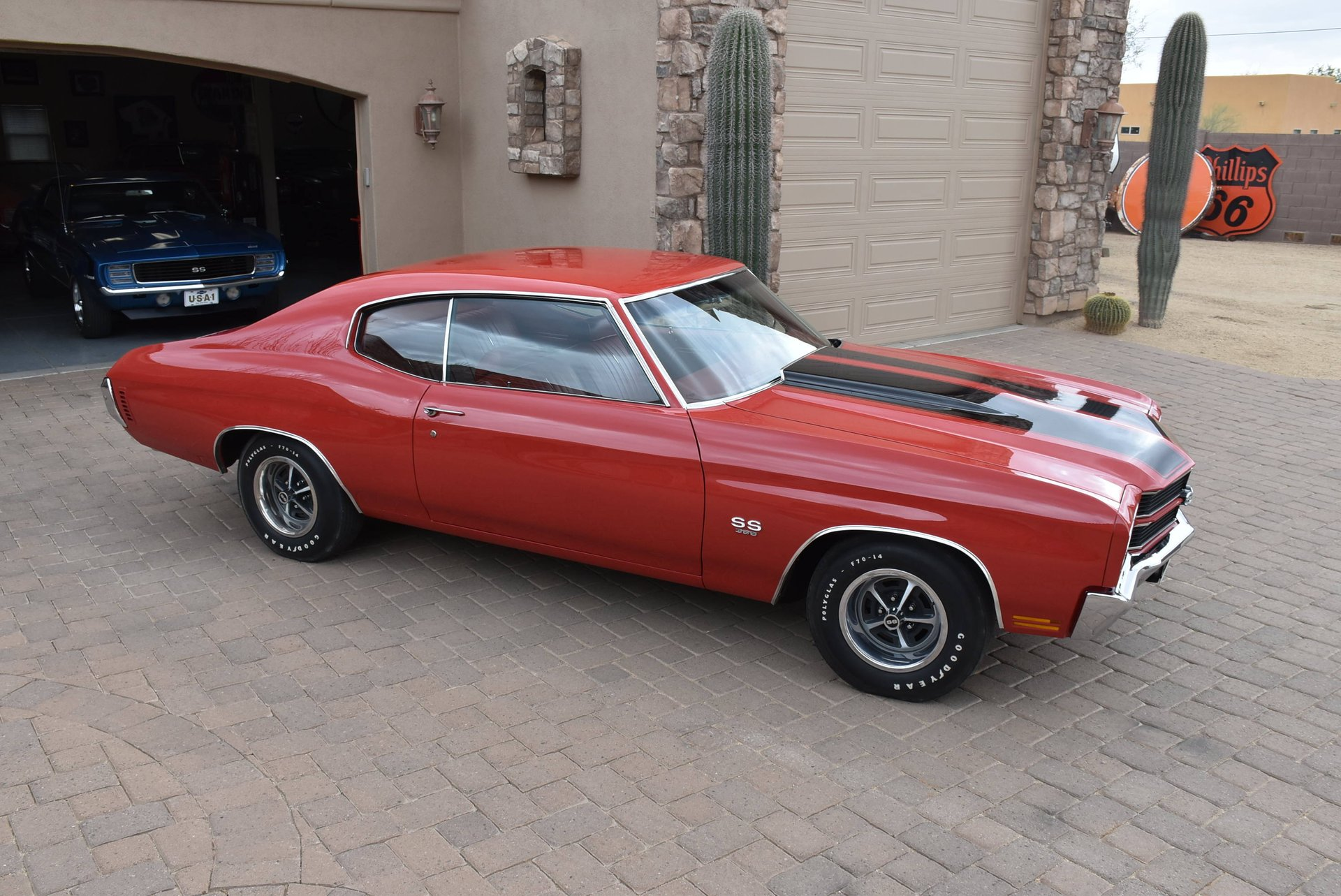 1970 chevrolet chevelle ss396 4 speed w 454 450hp red on red