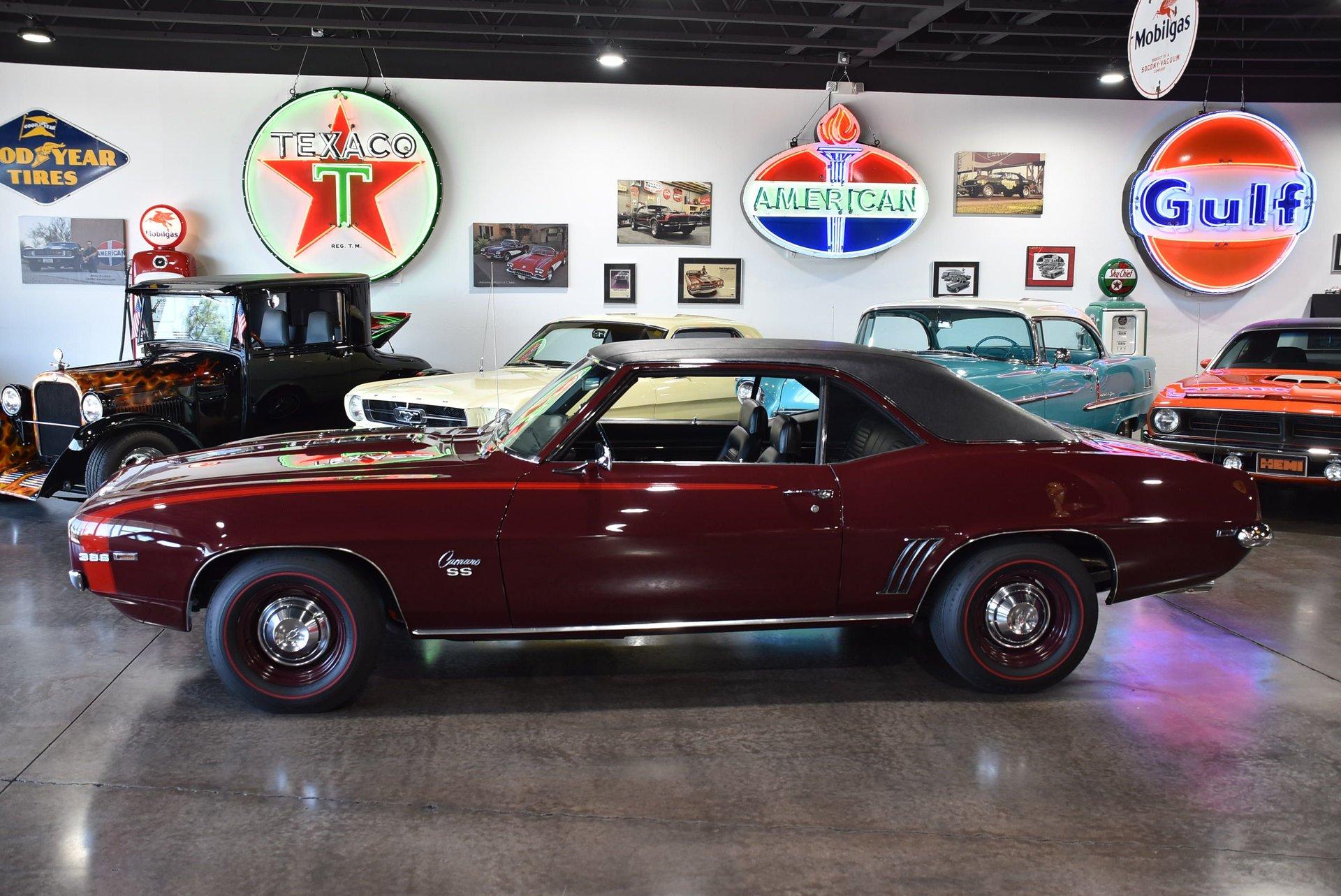 1969 chevrolet camaro ss396 rpo l78 375hp x66