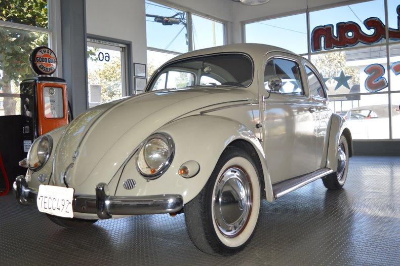 1957 Volkswagen Beetle Oval Window