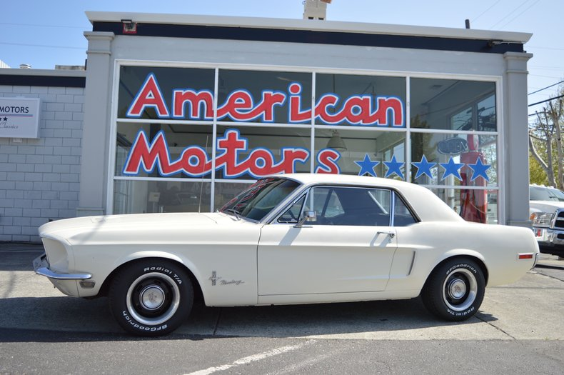 1968 Ford Mustang J Code 302