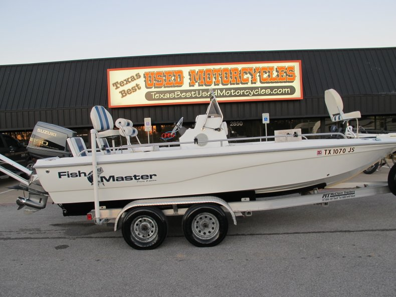 2002 Fish Master 2150
