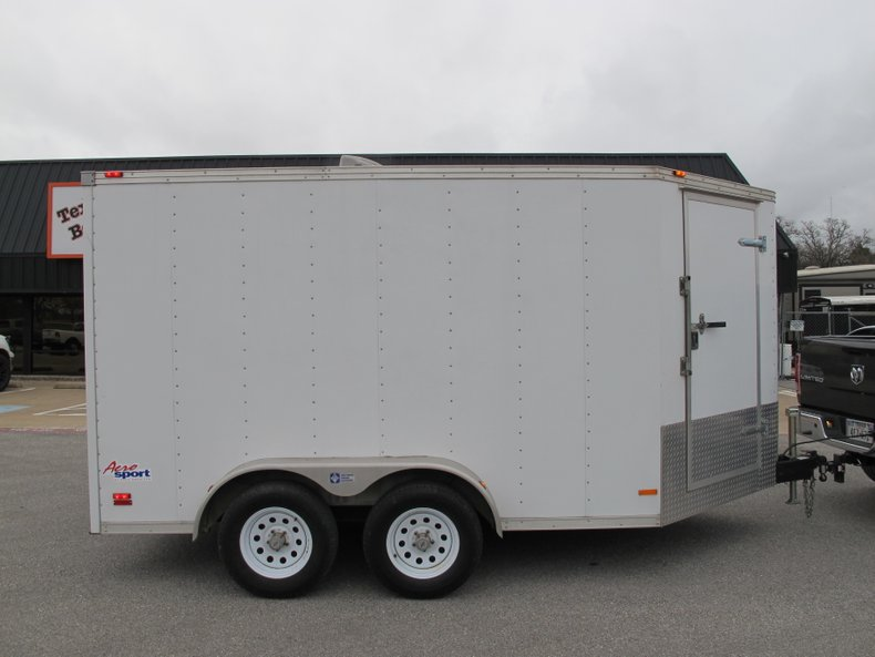 2007 Pace American Tandem Axle ramp Door