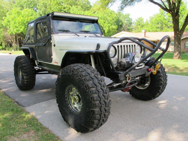 2002 Jeep Wrangler Sahara Rock Crawler