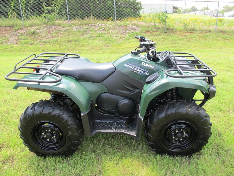 2011 Yamaha Grizzly 450 Power Steering