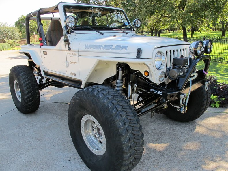 Jeep Rock Crawler >> 1997 Jeep Wrangler Rock Crawlertexas Best Used Motorcycles