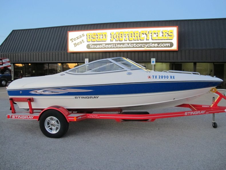 2010 Stingray 185LS Open Bow