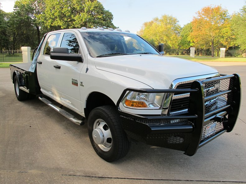 2012 Ram 3500 CAB & CHASSIS