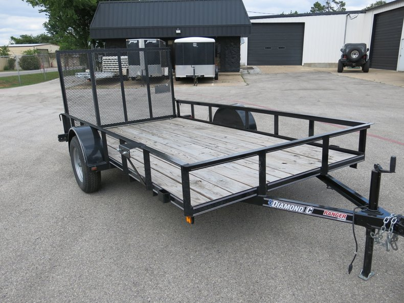 2015 Diamond C Ranger Utility Ramp