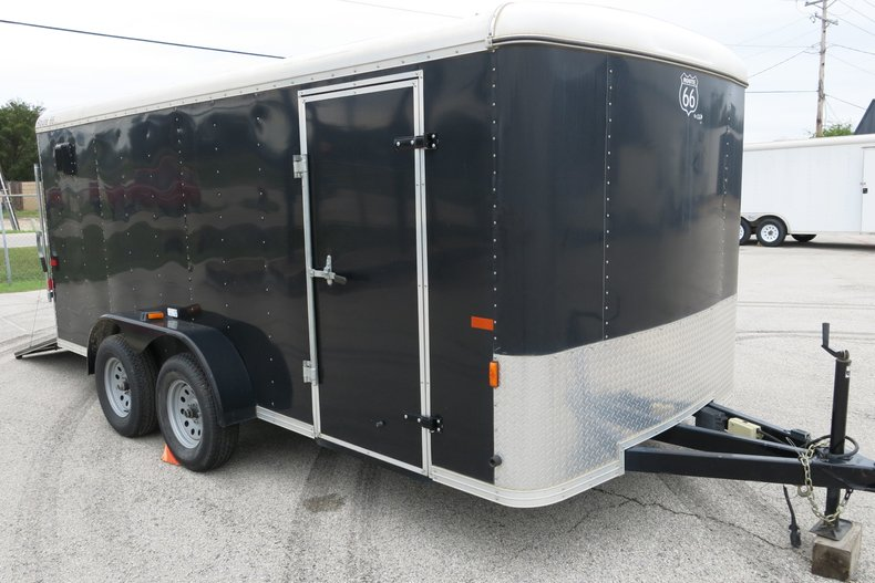 2008 CM Trailers Route 66 Cargo Ramp Door