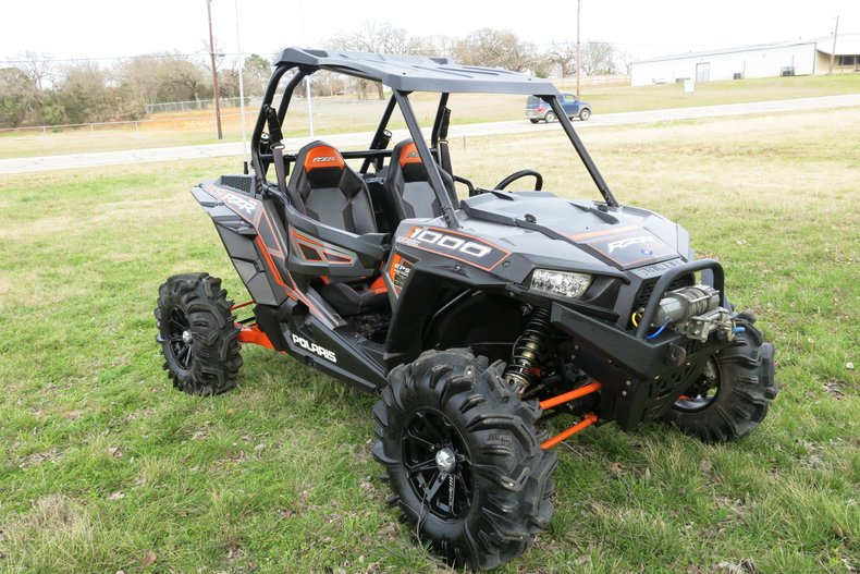 2014 Polaris RZR 1000XP power steering