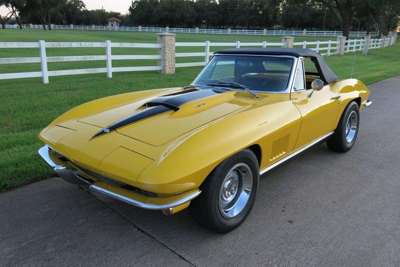 1967 Chevrolet Corvette LS-6 big block, 4 speed