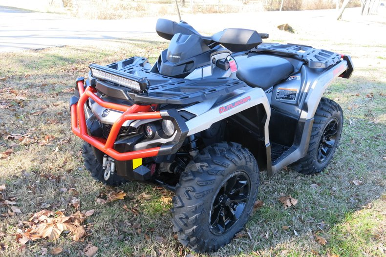 2018 Can-Am Outlander XT 1000R eps