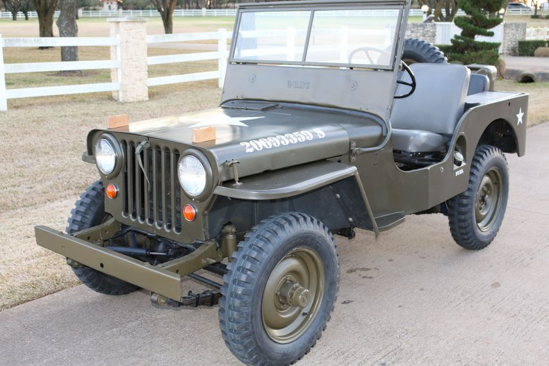 1948 Willys CJ-2A military Jeep