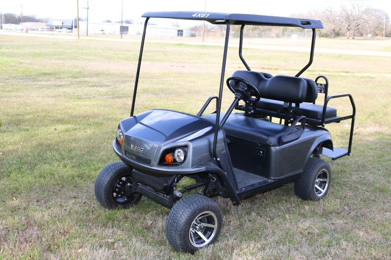 2012 EZ-GO 4 seater Gas Power