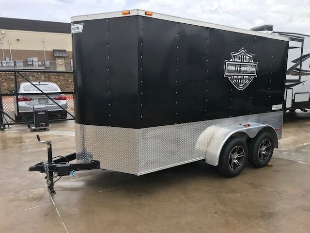 2015 Haulmark 5x12 high roof