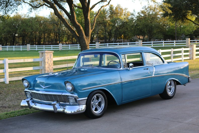 1956 Chevrolet 210 two door post