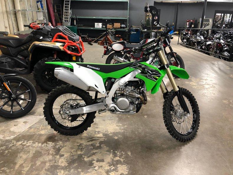 2019 Kawasaki KX450JKF