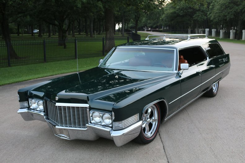 1969 Cadillac Sedan DeVille Hard top Wagon
