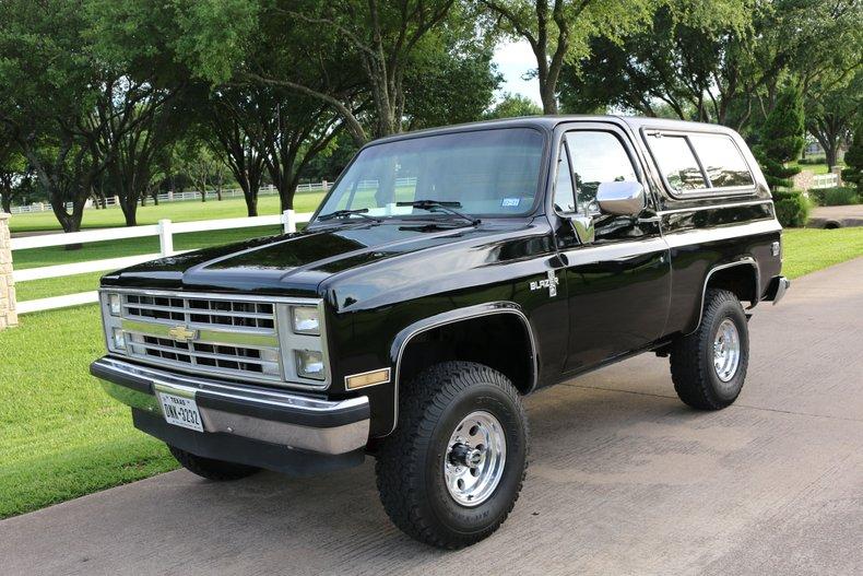 1988 Chevrolet K-5 Blazer Silverado