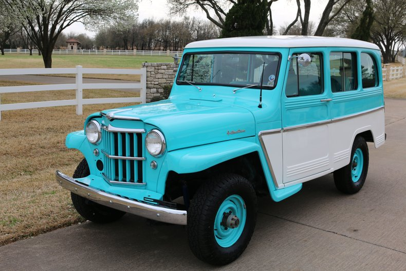 1961 Willys Utility 4x4 wagon