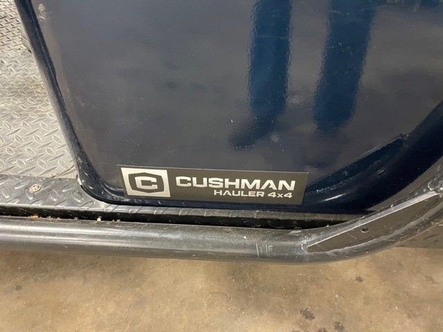 Cushman 4x4 Vehicle