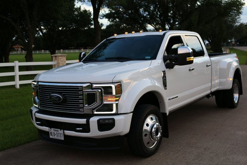 2020 Ford F450 Platinum 4x4