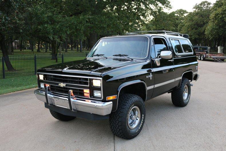 1984 Chevrolet K5 Blazer
