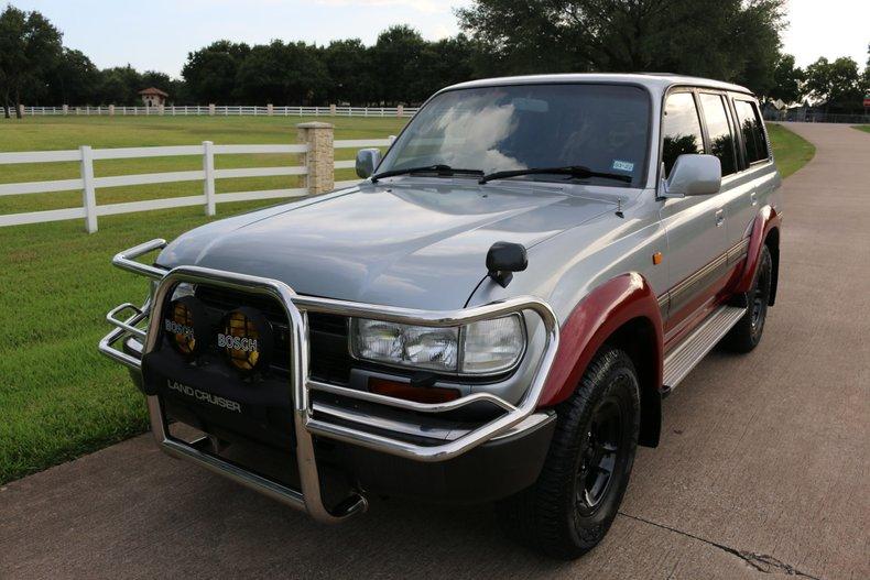 1993 Toyota FJ80 VX Limited