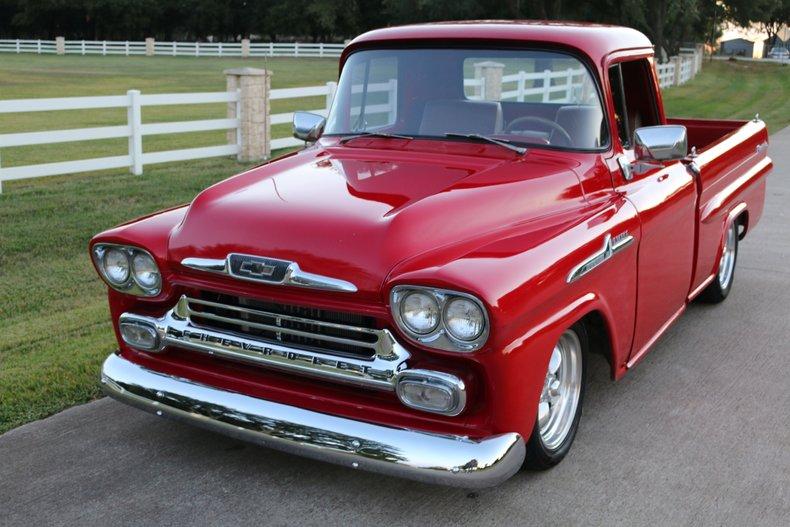 1958 Chevrolet Apache Fleetside