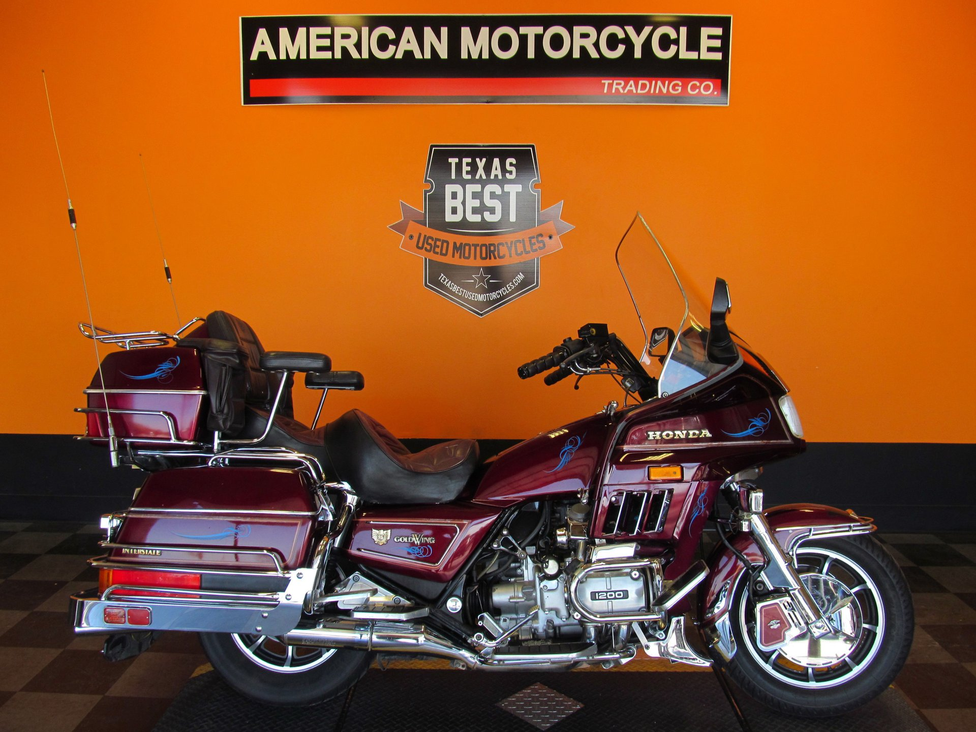 1985 honda gold wing gl1200