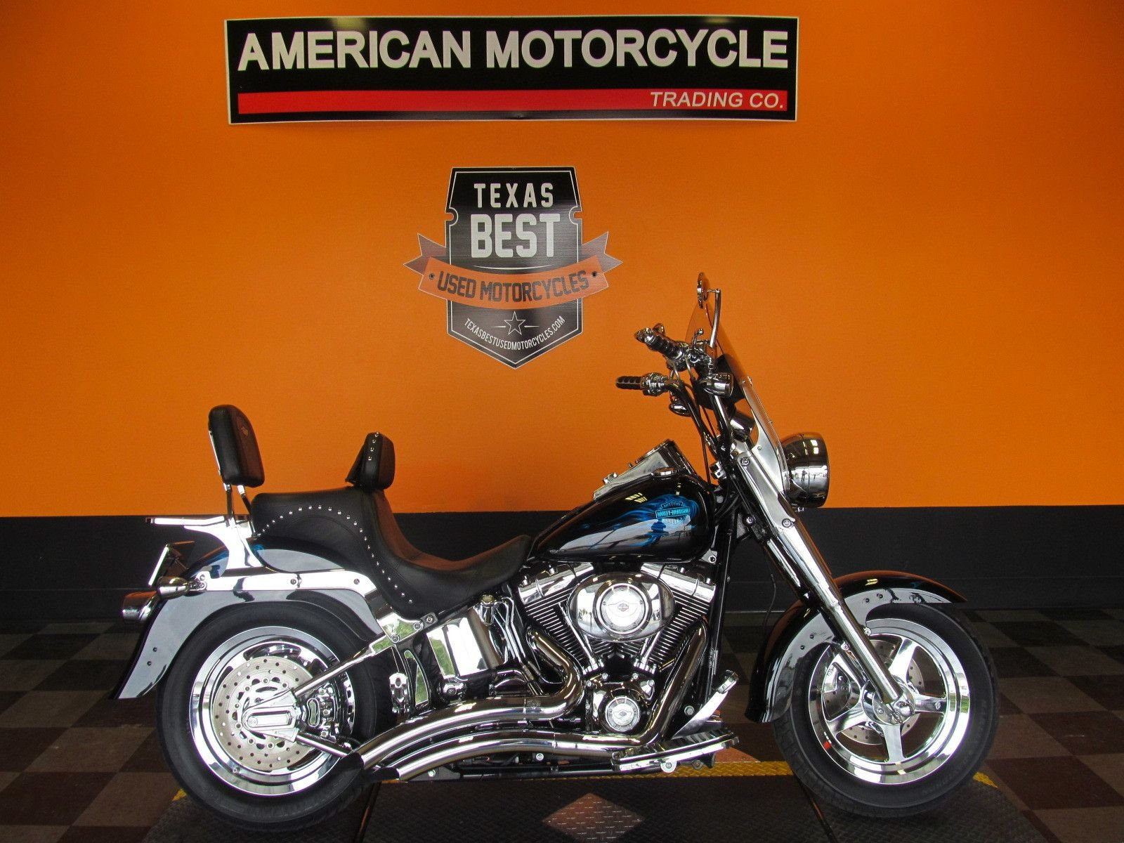 2003 harley davidson softail fat boy flstf