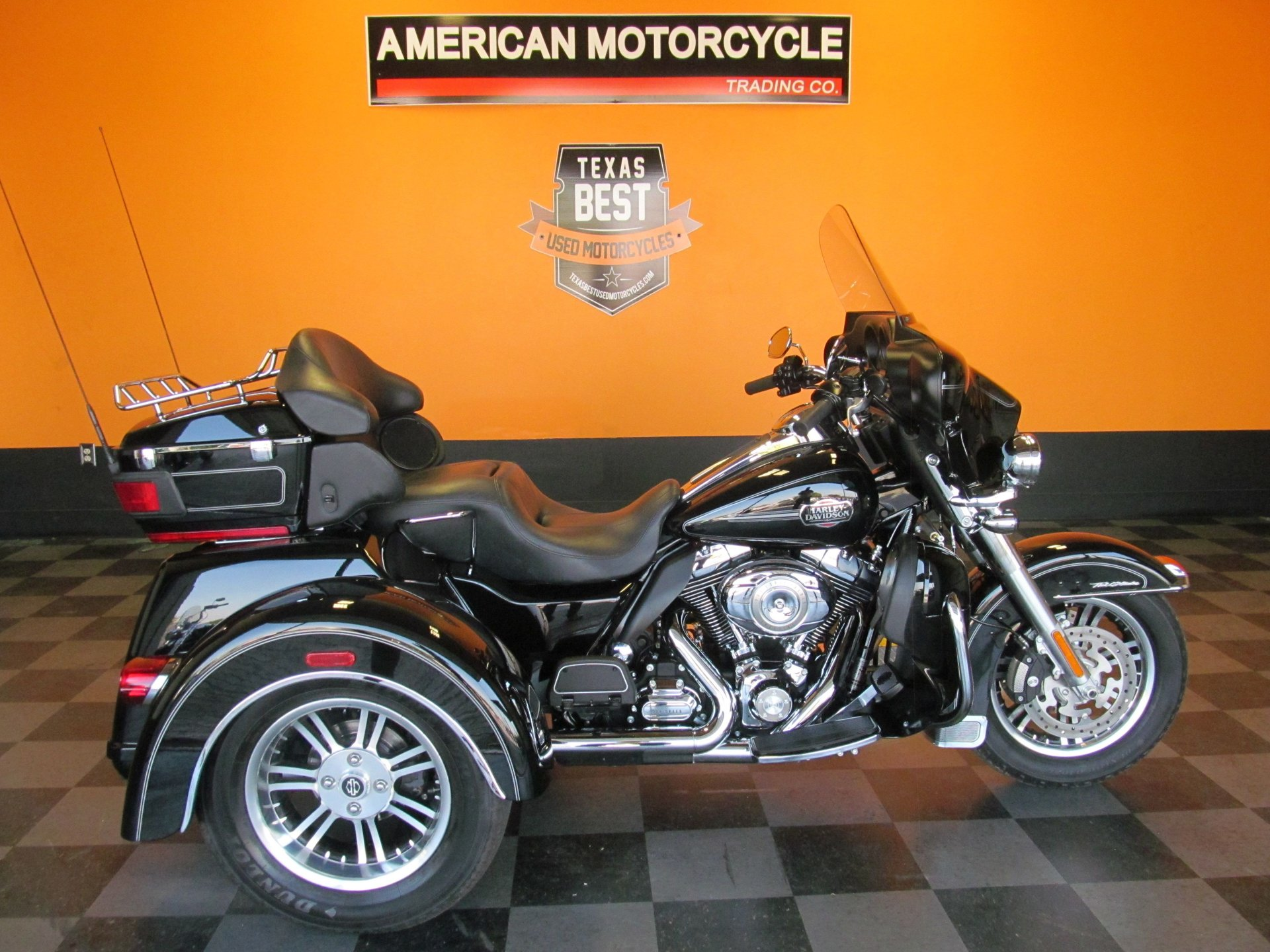 2012 harley davidson tri glide flhtcutg