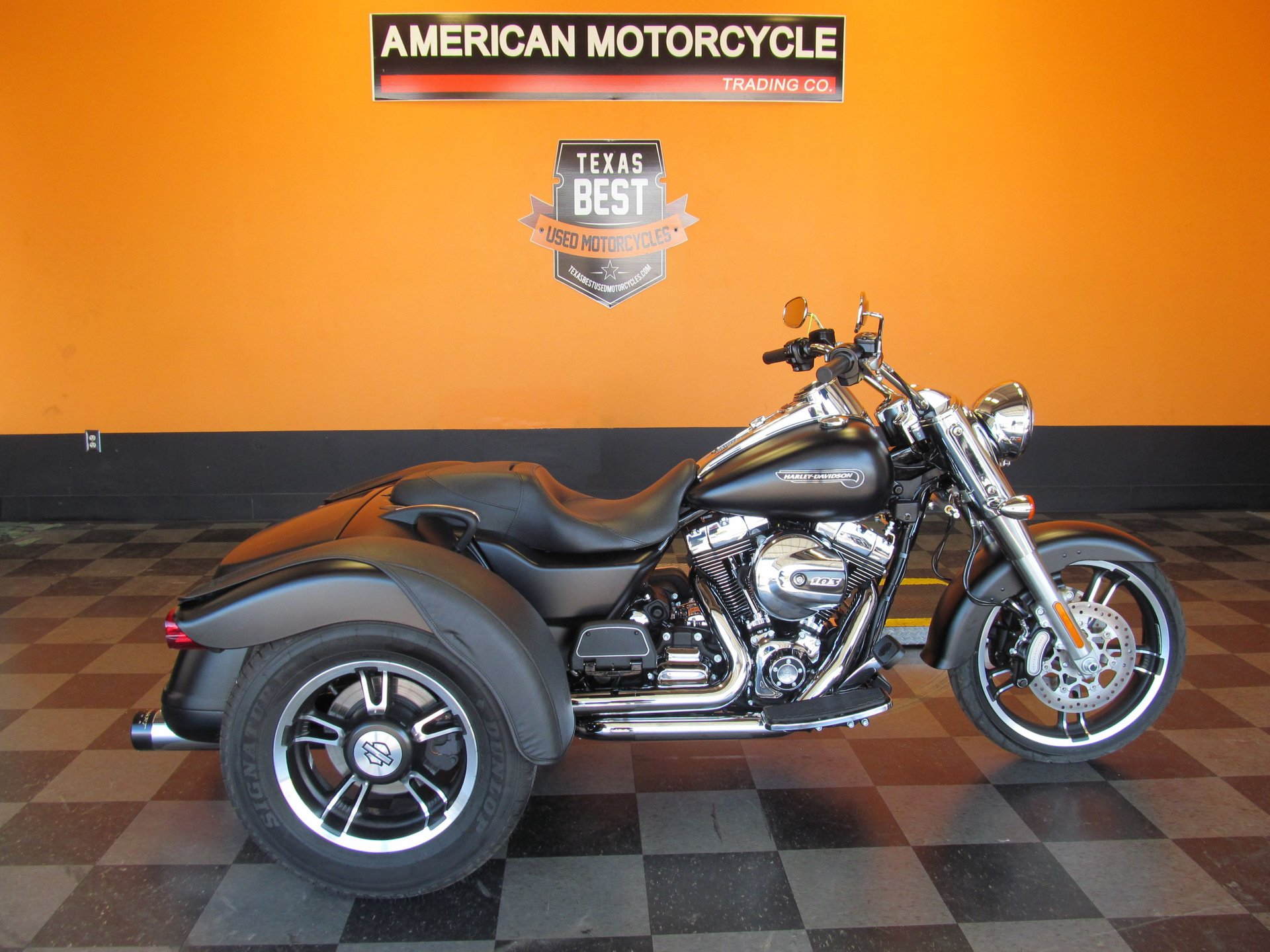 For Sale 2015 Harley-Davidson Freewheeler Trike
