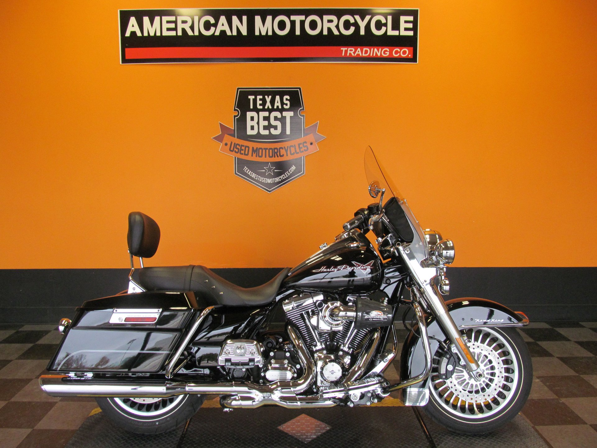 2012 harley davidson road king flhr