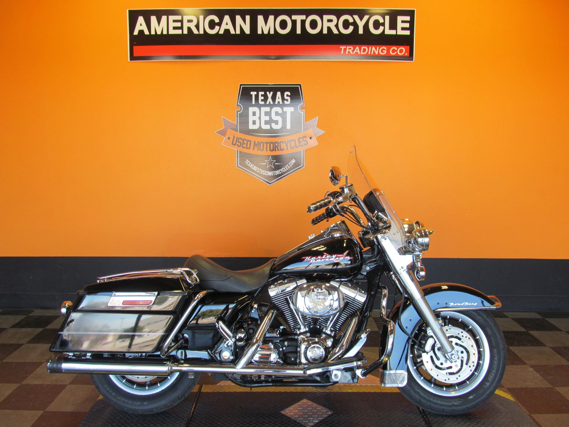 2004 harley davidson road king flhr