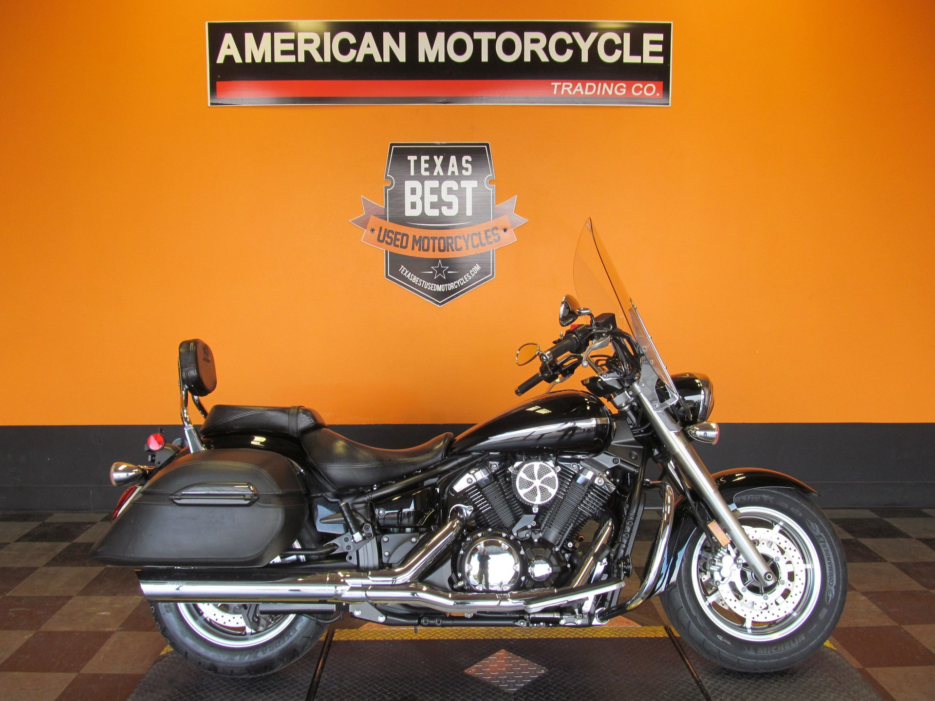2007 yamaha v star xvs1300ct