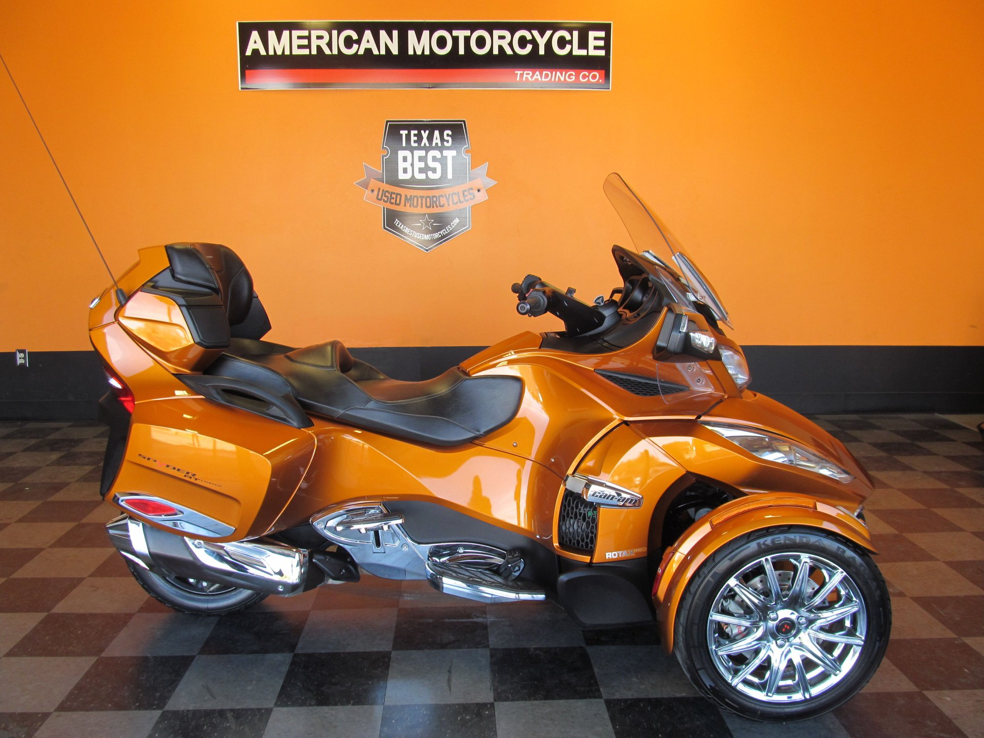 2014 can am spyder rt se6 limited