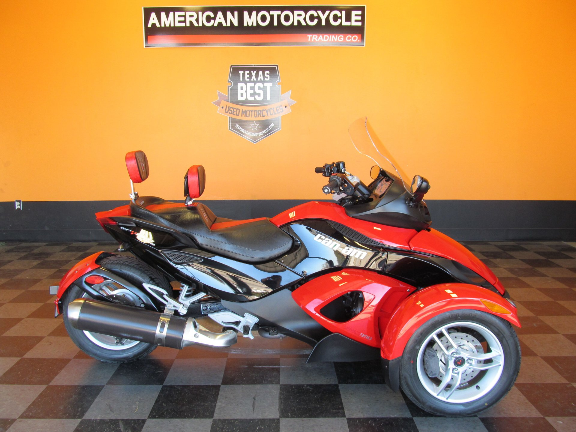 2010 can am spyder rs sm5