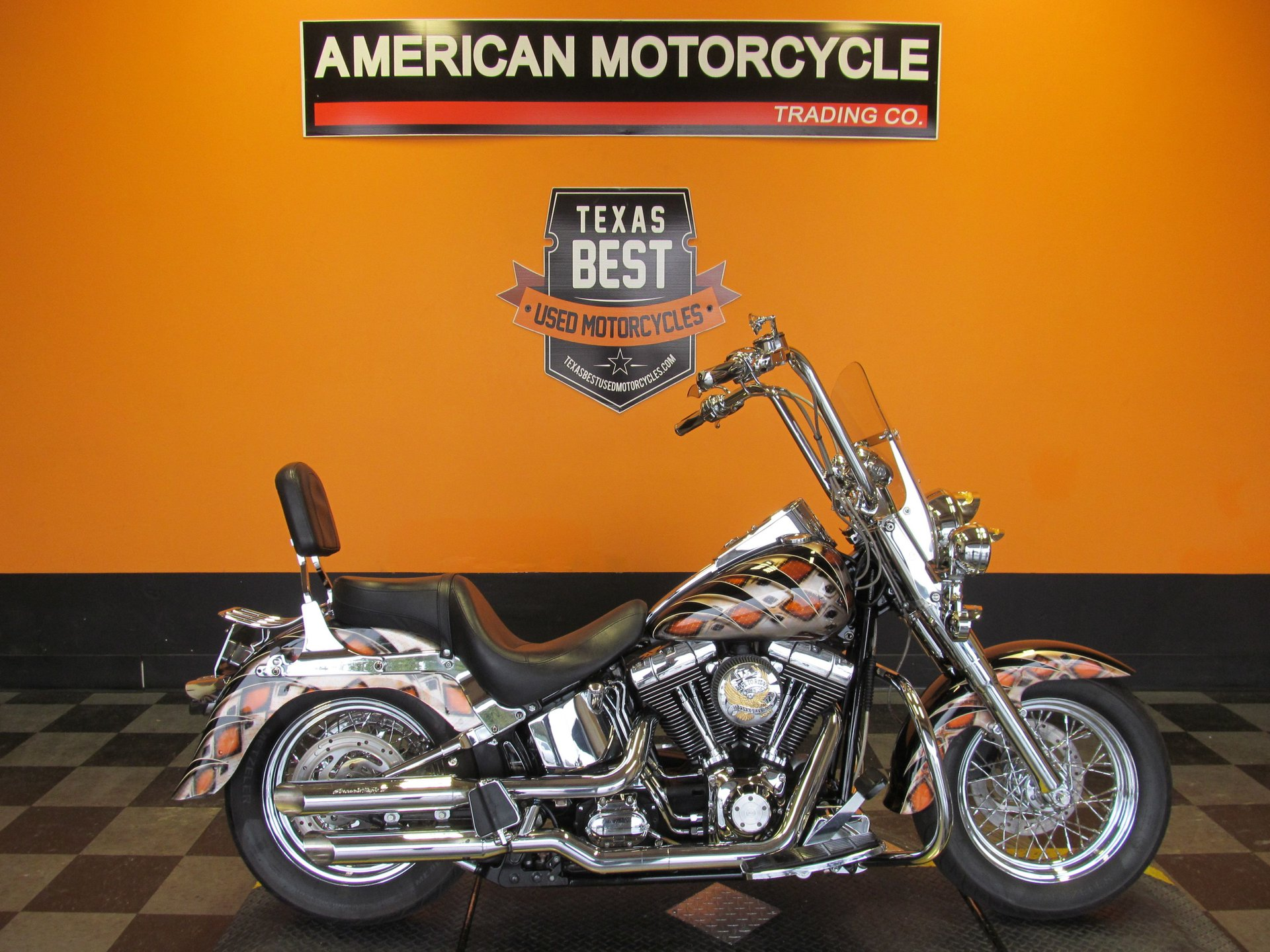 2002 harley davidson softail fat boy flstfi