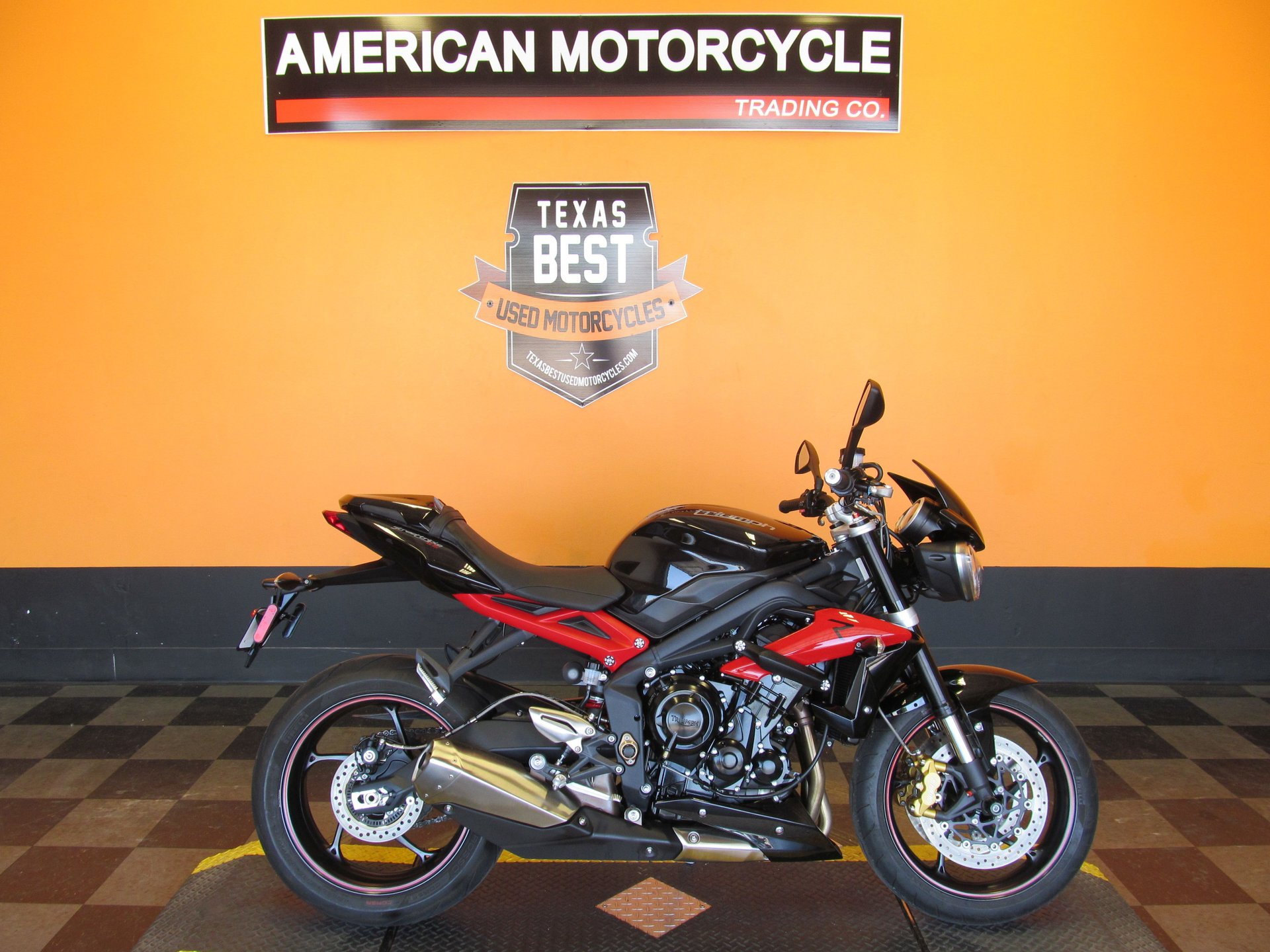 For Sale 2014 Triumph Street Triple R - ABS