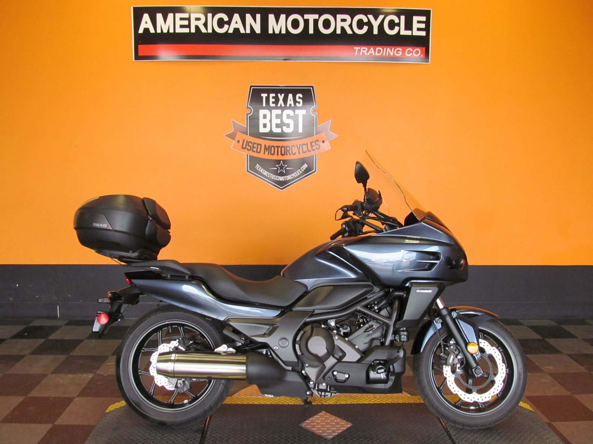 2015 honda ctx700d with abs