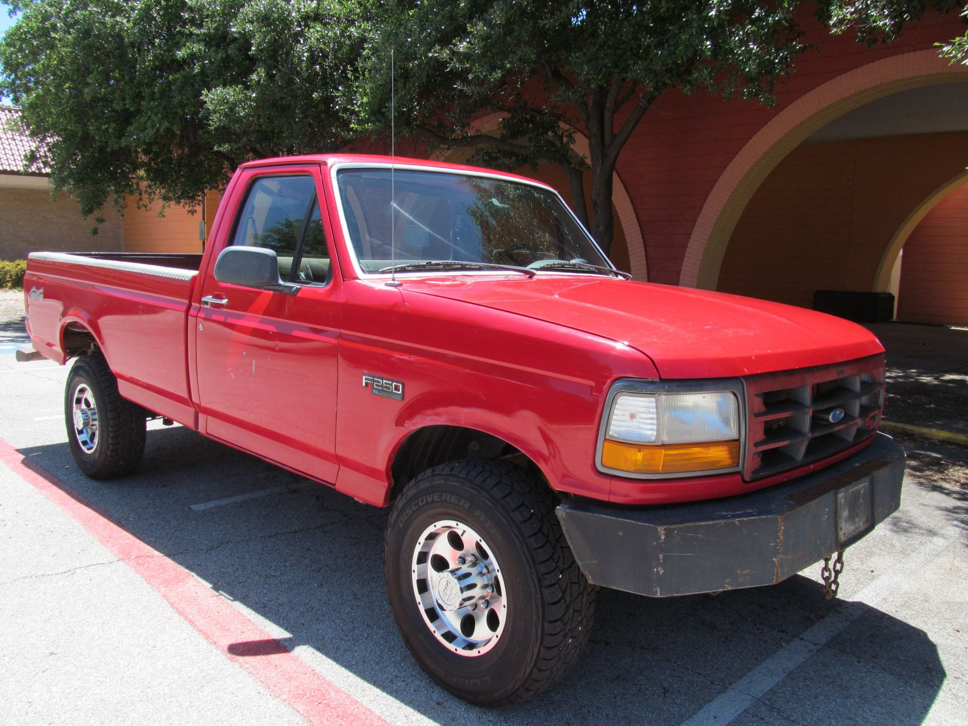 1996 ford f250 xl 4wd