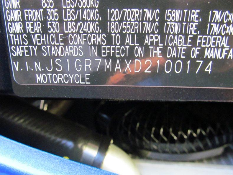 2013 Suzuki GSX-R750
