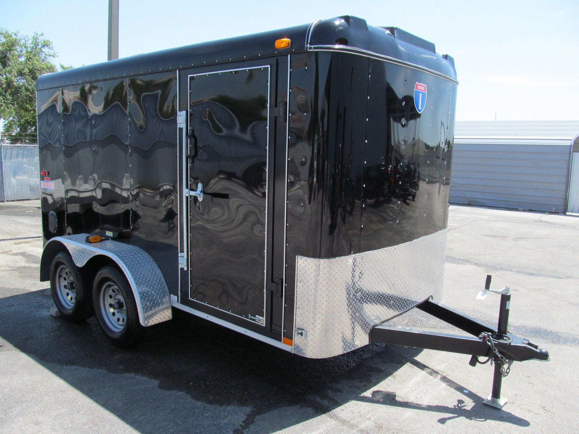 2014 interstate 2 axle motorcycle trailer