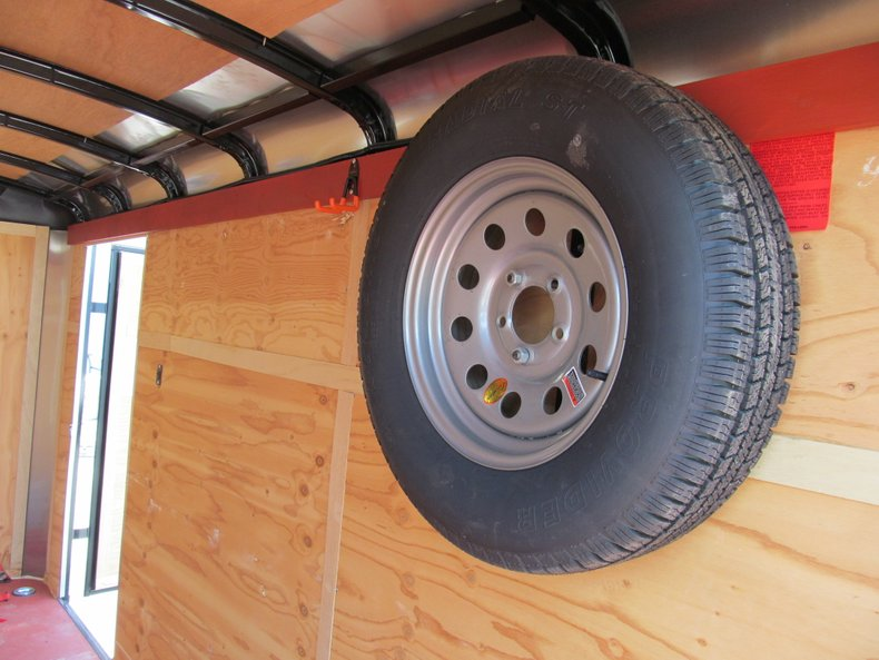 2014 Interstate 2-Axle Motorcycle Trailer