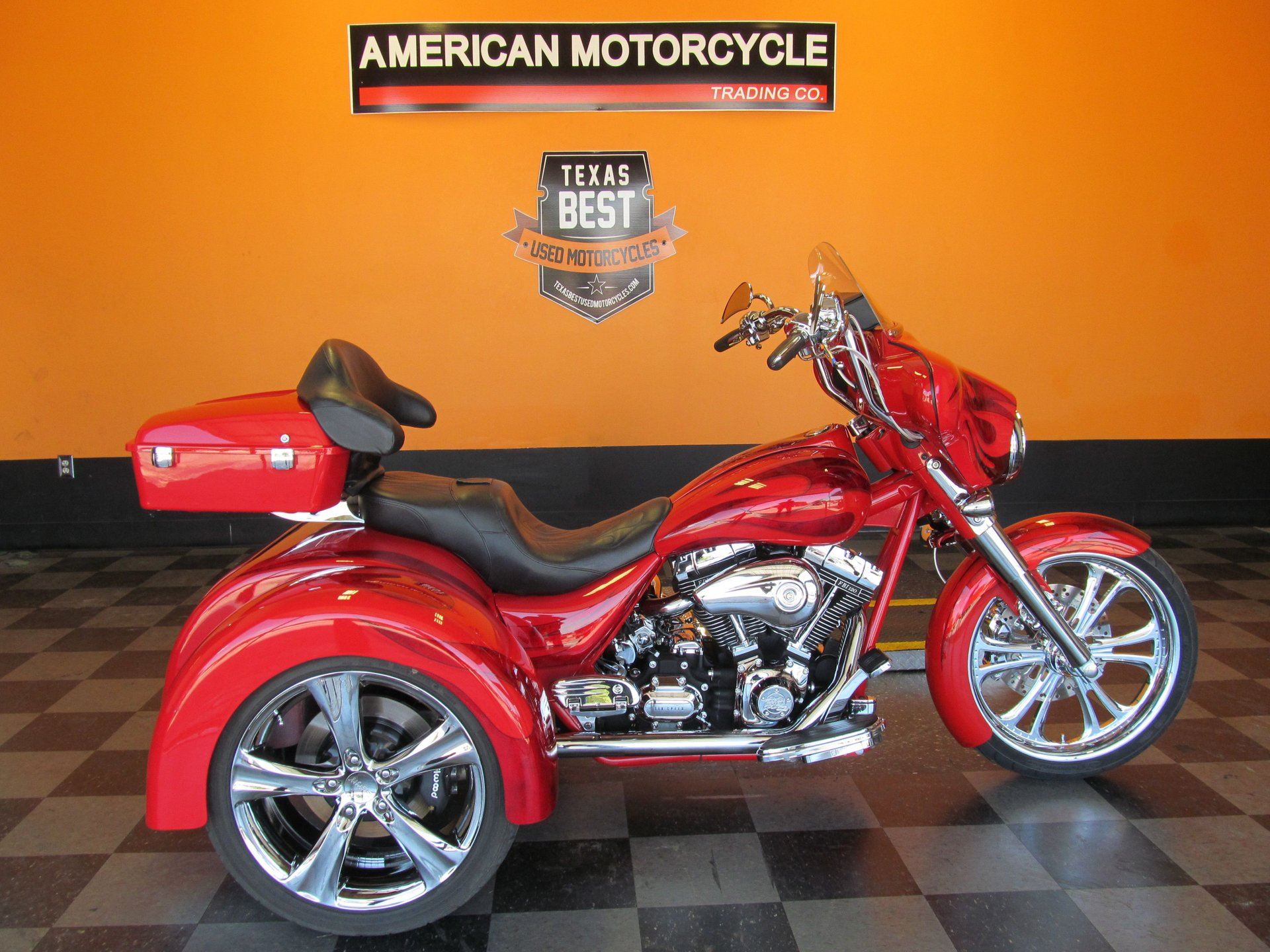 For Sale 2008 Fatbagger Razorback Trike