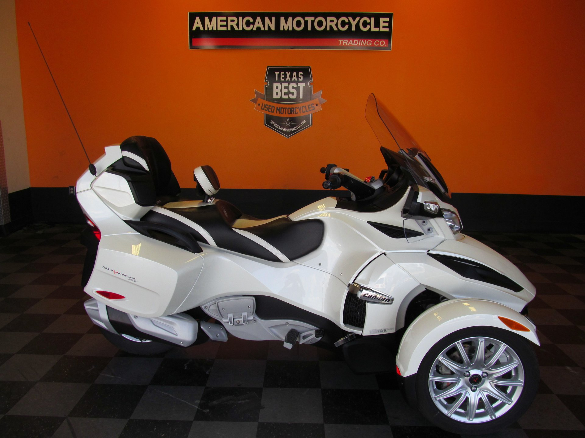 2014 can am spyder rt sm5