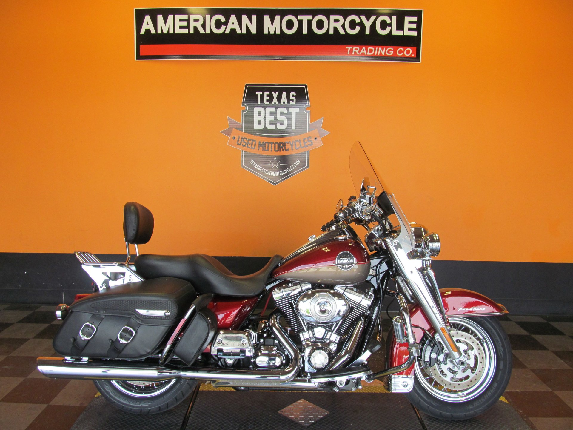 2009 harley davidson road king classic flhrc