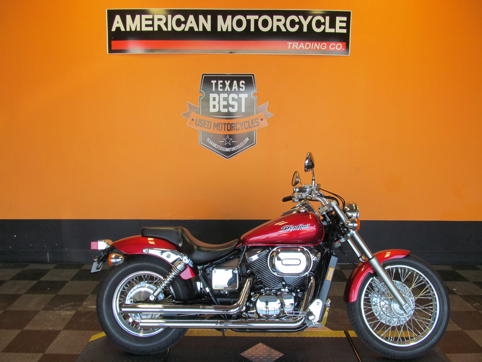 2007 honda shadow spirit vt750dc