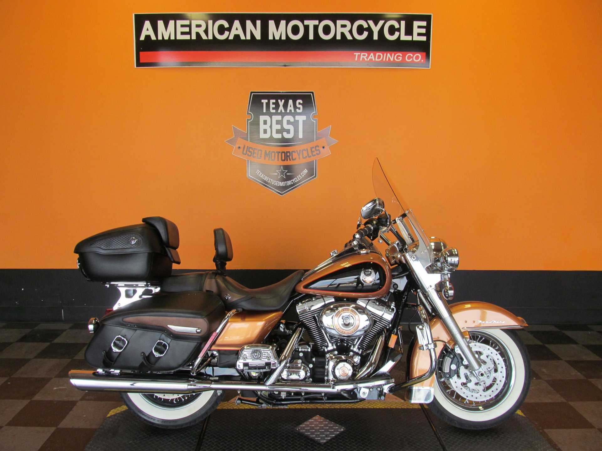 2008 harley davidson road king classic flhrc 105th anniversary